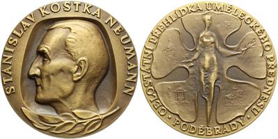 AE Medaile b.l. - Celostátní přehlídka uměleckého přednesu, Br 91 mm