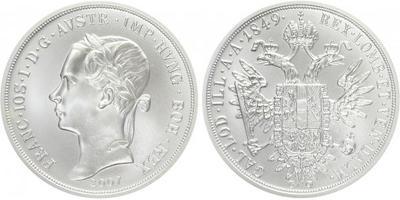 AR Medaile 2007 - replika konvenčního tolaru Františka Josefa I., Ag 0,999, 40 mm (29