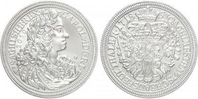 AR Medaile 2010 - výtěžkový tolar Karla VI., Ag 0,999, 40 mm (29 g), kapsle, etue, ce
