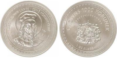 AR Medaile 2013 - Korunovační klenoty - Svatý Václav / Svatováclavská koruna