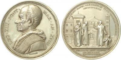 AR Medaile (Bianchi) 1895 - Ag, 44 mm (35, 1 g)