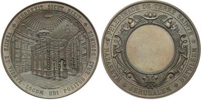 AE Medaile b.l. - Betlémská medaile, Cu 50 mm