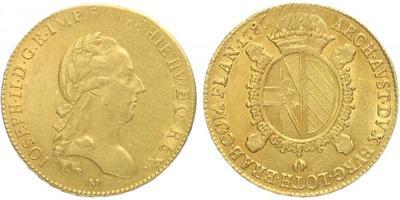 František II., Sovráno 1786 M, Milán