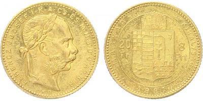 František Josef I., 8 Zlatník 1881 KB