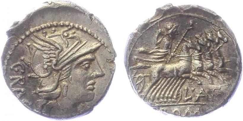 L. Antestius Gragulus - Denár, A.904