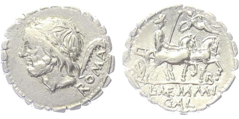 L. Memmius Galeria - Serratus, A.1110