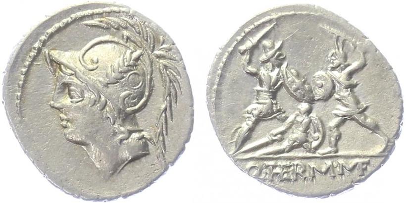 Q. Minucius Thermus M. - Denár, A.1123