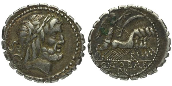 Q. Antonius Balbus - Denár (Serratus) , A.1242