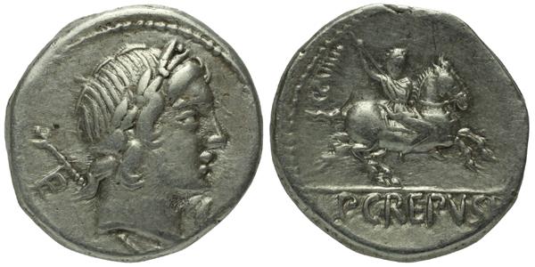 P. Crepusius - Denár, A.1252