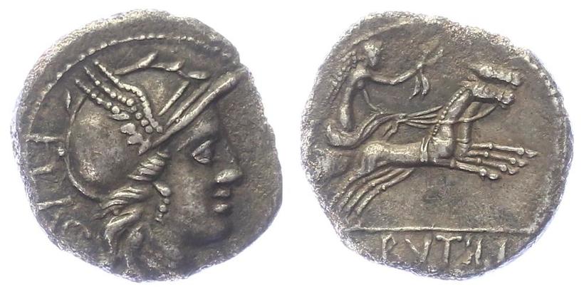 L. Rutilius Flaccus - Denár, A.1286