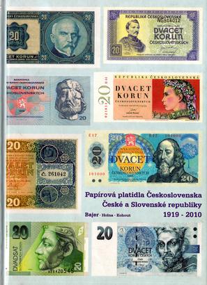 Papírová platidla Československa, ČR a SR 1919 - 2010