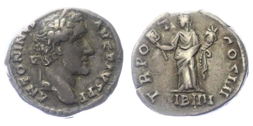 Antoninus Pius - Denár, RIC.155