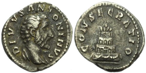Antoninus Pius - Denár, RIC.