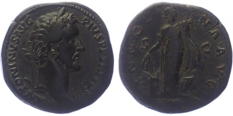 Antoninus Pius - Sestercius, HRIC.597