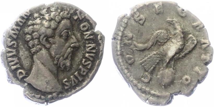 Marcus Aurelius - Denár, RIC.273