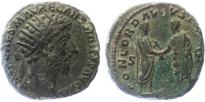 Marcus Aurelius - Dupondius, RIC.799