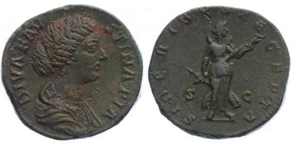 Faustina junior, manželka Marca Aurelia - Sestercius, RIC.1715