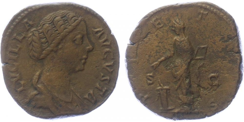 Lucilla (manželka Lucia Vera) - Sestercius, RIC.1755