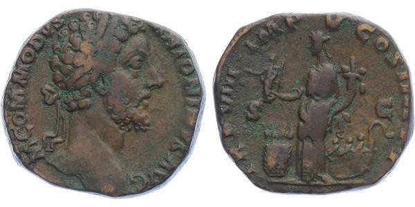 Commodus -  Sestercius, RIC.325