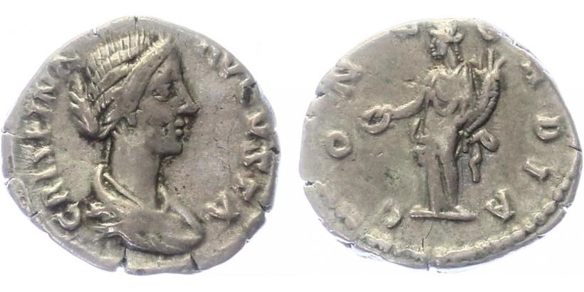 Crispina - Denár, RIC.278