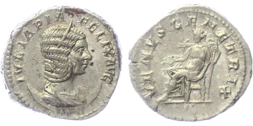 Julia Domna (manželka Sept. Severa) - Antoninián, RIC.388a