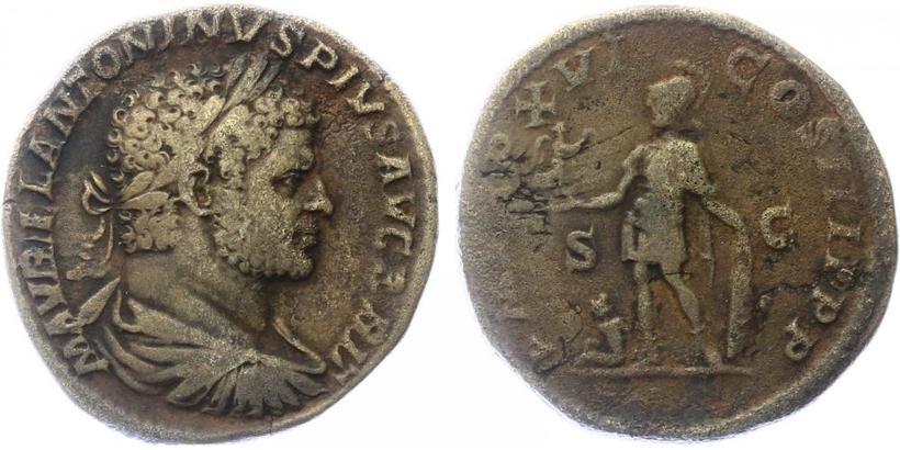 Caracalla - Denár, RIC.496b