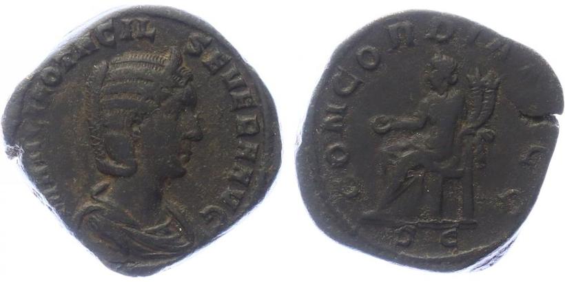 Otacilia Severa - Sestercius, RIC.203a