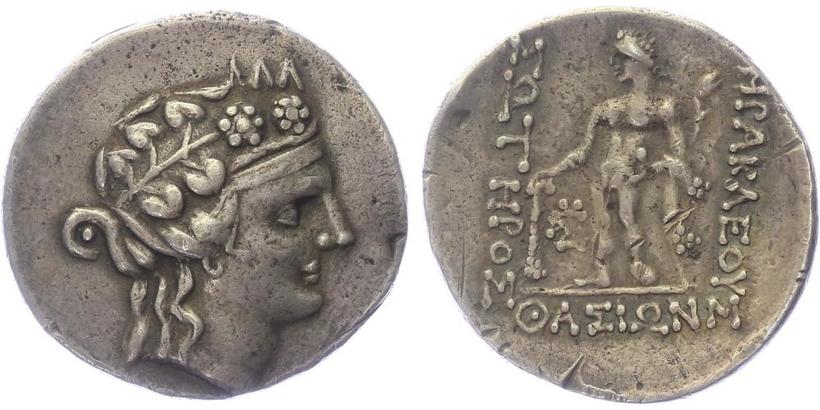 Thrakia, Thasos - Tetradrachma , SG.1759