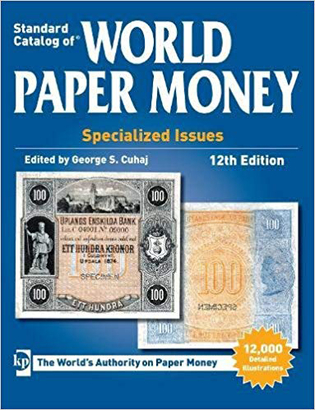 World Paper Money, Specialized Issues, 12. vydání