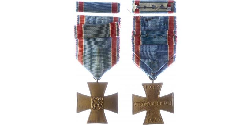 Pamětní medaile československého dobrovolce z let 1918 - 1919