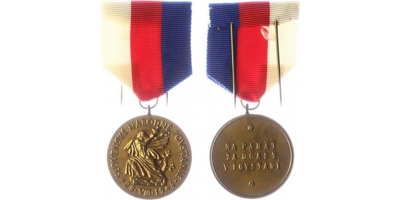 Řád Slovenského národního povstání, III. třída, bronz