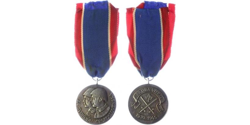 Československý vojenský řád Za svobodu, II. stupeň