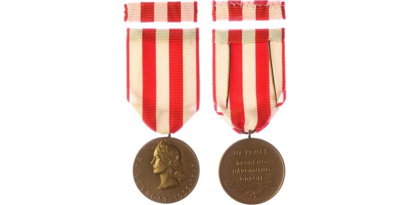 Pamětní medaile druhého národního odboje, VM.20