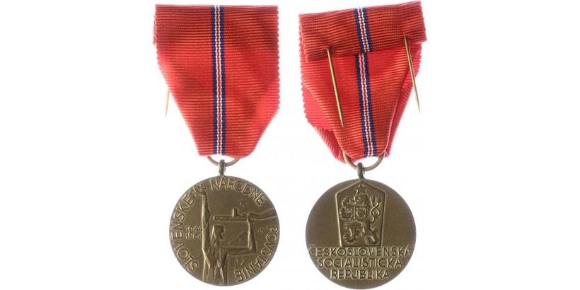 Pamětní medaile k 20. výročí Slovenského národního povstání, VM.52