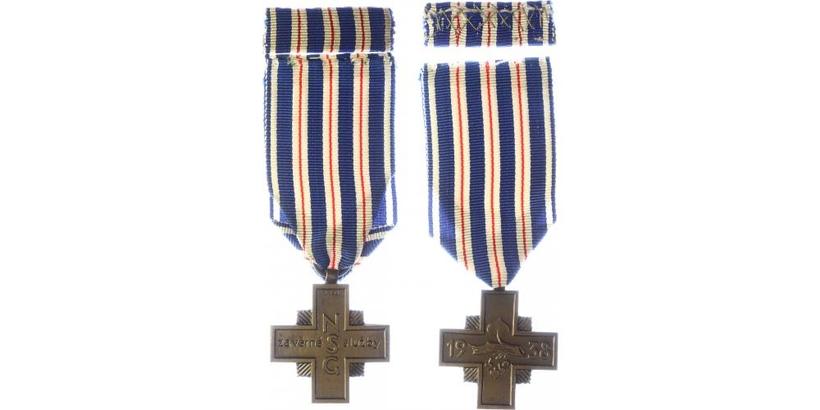 Pamétní křiž Za věrné služby, vydání 1938
