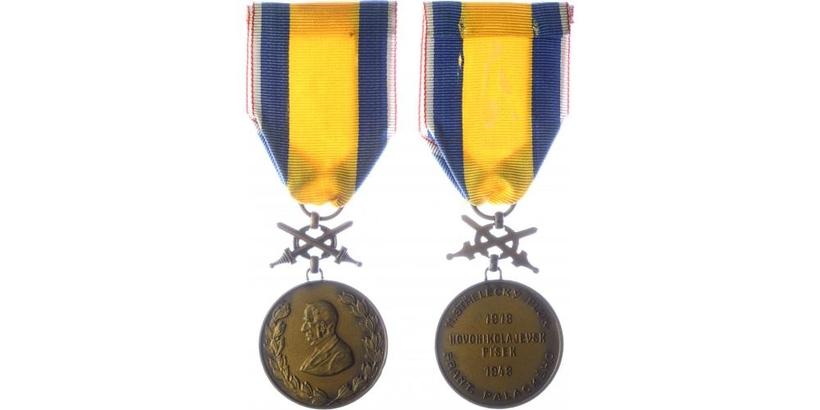 Pamětní medaile 11. střeleckého pluku Františka Palackého
