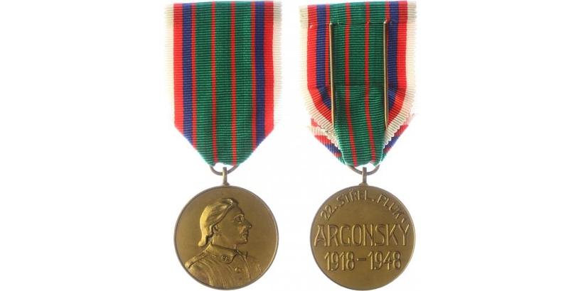 Pamětní medaile 22. strěleckého pluku Argonského