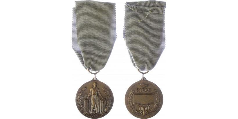 Pamětní medaile Mezinárodní federace starých bojovníků FIDAC