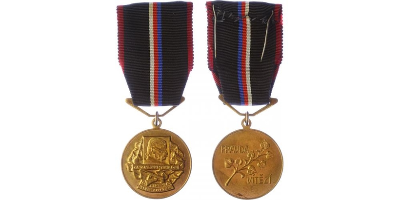 Pamětní medaile 1. čs. partyzánské brigády Jana Žižky z Trocnova, VM.130a
