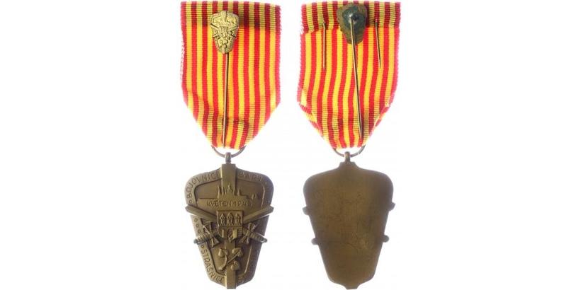 Pamětní medaile bojovníků barikád ze Strašnic - Stará škola