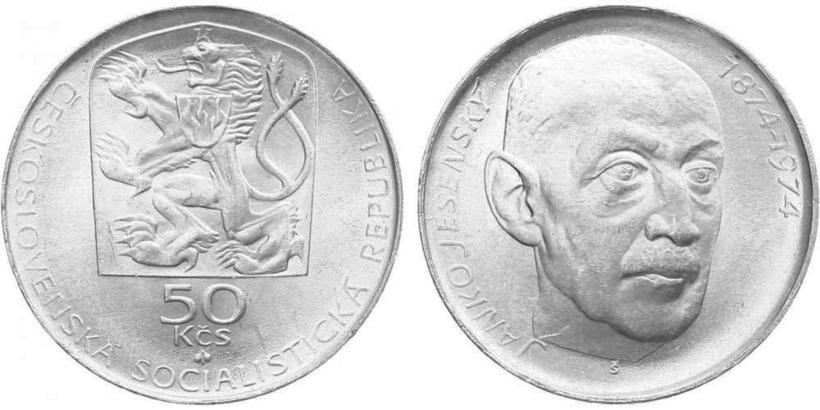 50 Koruna 1974 - Ján Jesenský