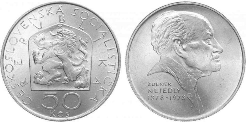 50 Koruna 1978 - Zdeněk Nejedlý