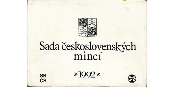 Ročníková sada mincí 1992