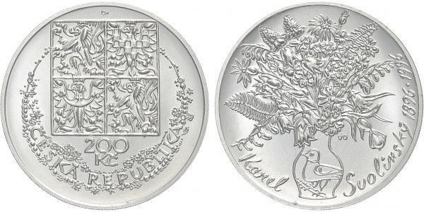 200 Kč 1996 - Karel Svolinský, běžná kvalita