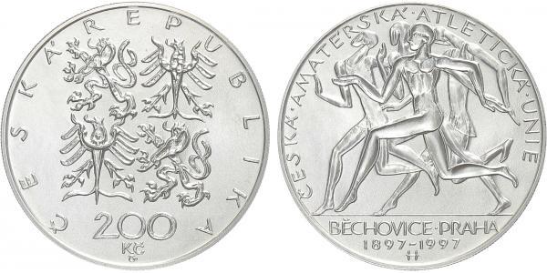 200 Kč 1997 - Běchovice, běžná kvalita