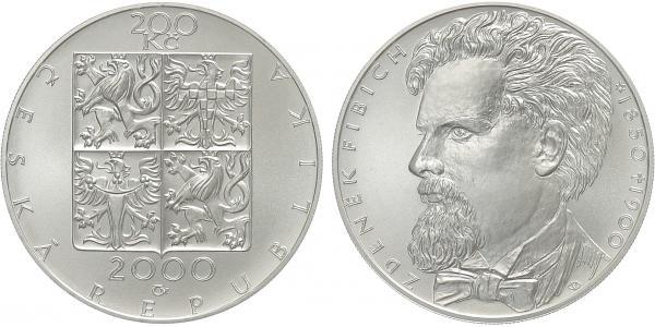 200 Kč 2000 - Zdeněk Fibich, běžná kvalita