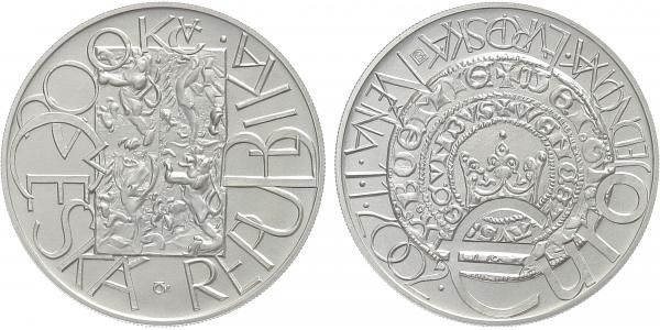 200 Kč 2001 - Evropská měna EURO, bežná kvalita
