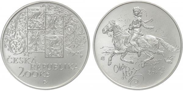 200 Kč 2002 - Mikoláš Aleš, běžná kvalita