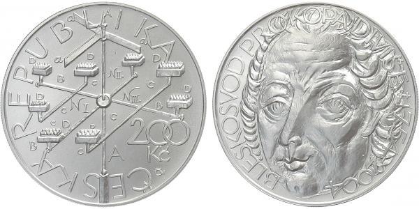 200 Kč 2004 - Prokop Diviš, běžná kvalita