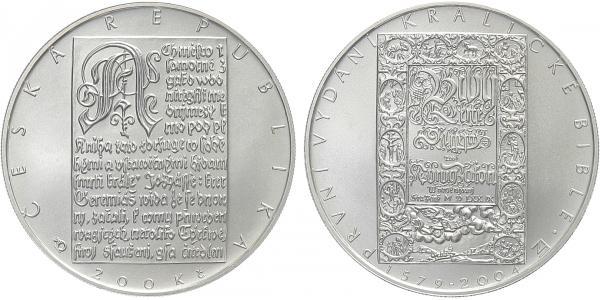 200 Kč 2004 - Bible Kralická, běžná kvalita